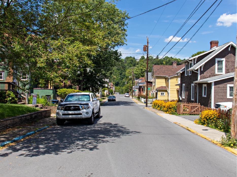 Street view of Greenmont